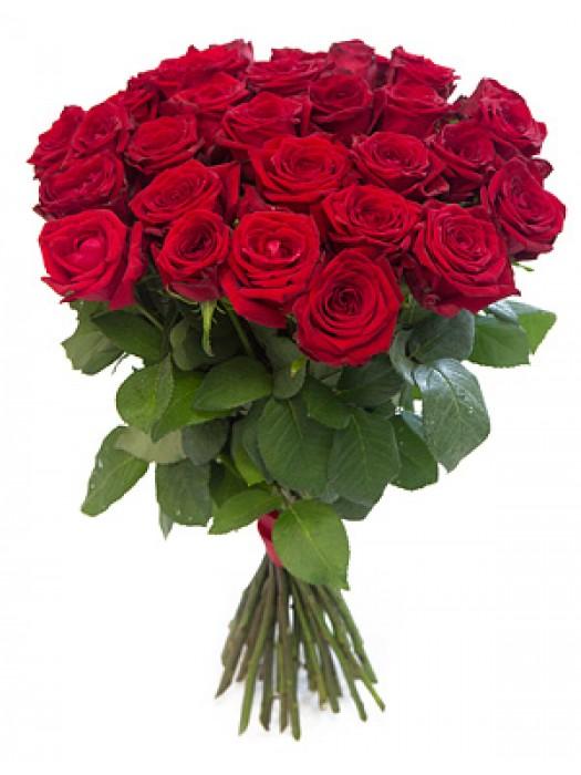 Букет от Червени рози на невероятната цена от 19.99 лв.
