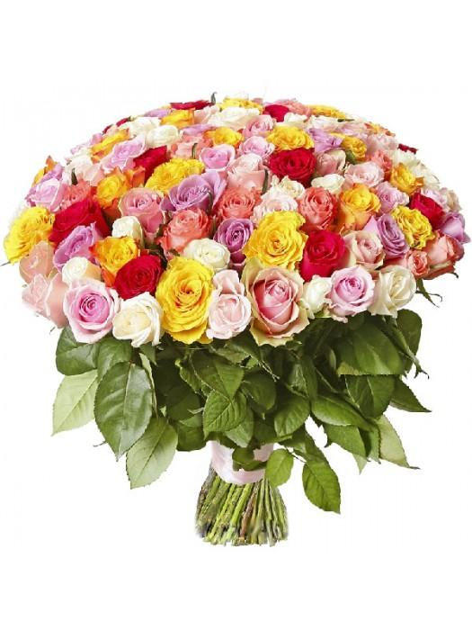Поръчай Букет от 101 Рози Микс 2 на най-ниската цена от 199.99