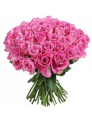 Букет от 51 Розови Рози