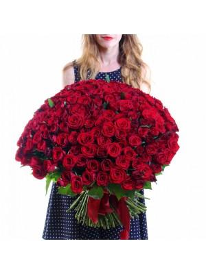 101 Червени Рози в букет