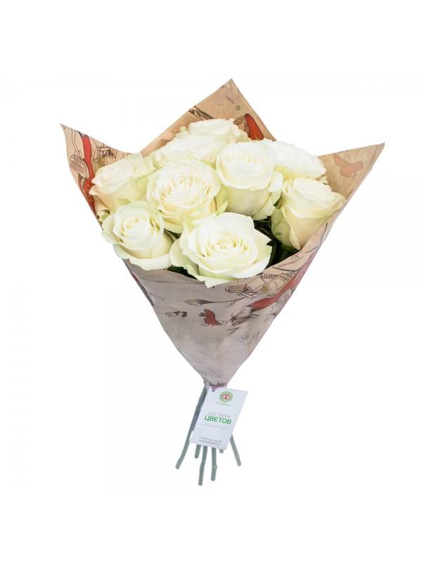 Букет от 9 Червени Рози на невероятната цена от 32.99