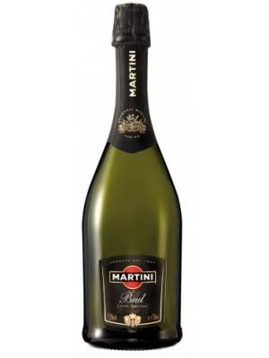 Пенливо вино Мартини брут 0.75 л. в изискана подаръчна хартия