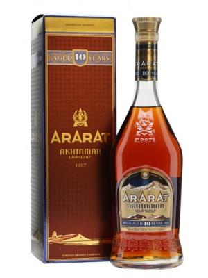 Бренди Арарат 10-год Ахатамр в кут 42% 0.5