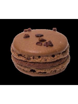 Елегантен вкусен Макарон тъмен шоколад в изискана и луксозна кутия