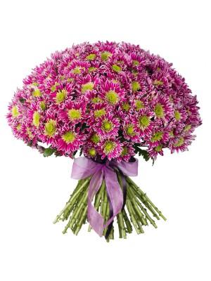 Букет от Розови Хризантеми